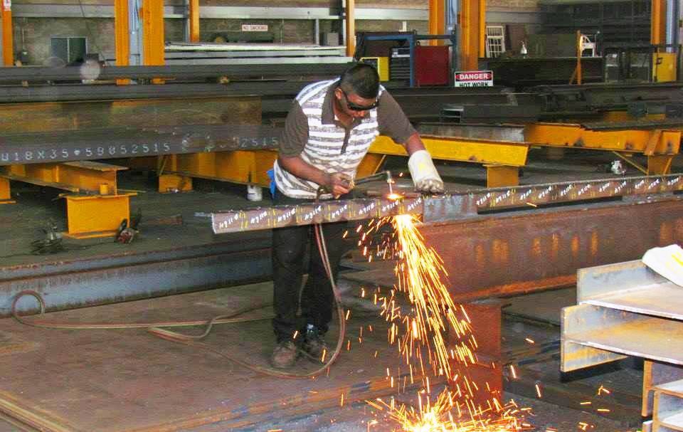 Structural Steel Fabrication 12
