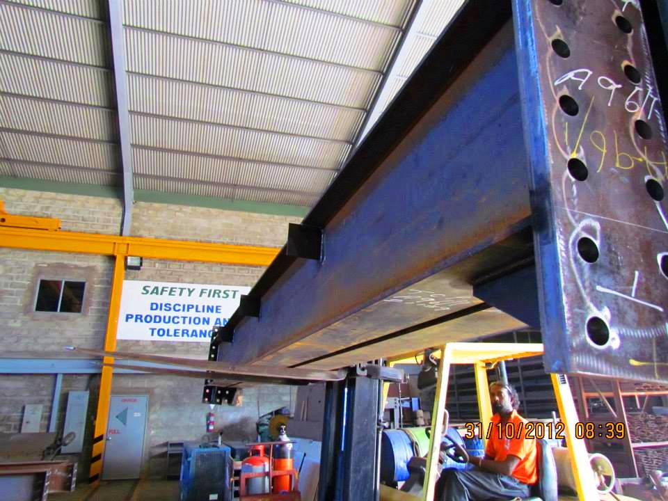 Structural Steel Fabrication 13