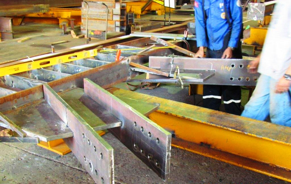 Structural Steel Fabrication 2