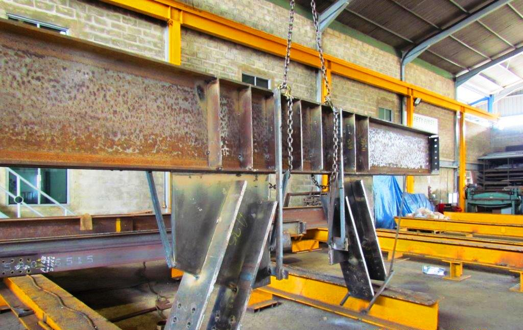 Structural Steel Fabrication 3